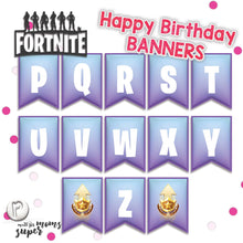 Load image into Gallery viewer, Fortnite Happy Birthday Banners - 3