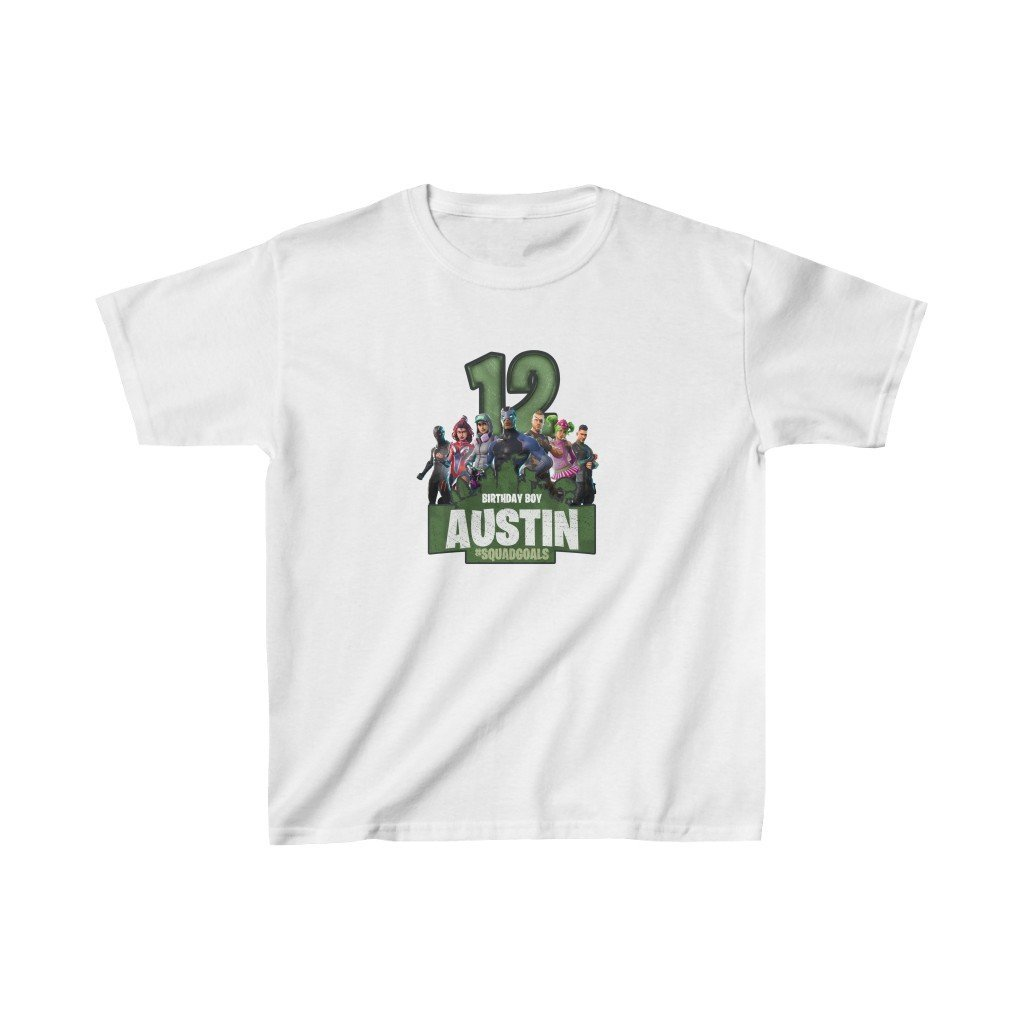 Fortnite Kids Birthday T-Shirt - 2