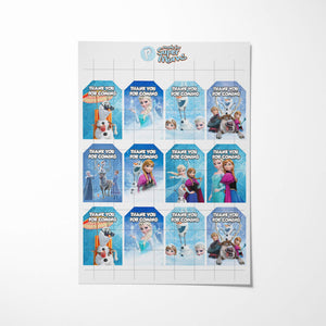 Frozen 2 Thank You Tags - 3