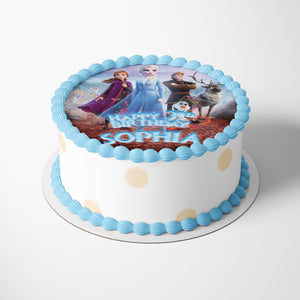 Frozen Cake Toppers - 2