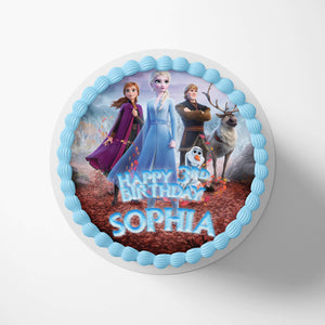 Frozen Cake Toppers - 1