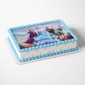 Frozen Cake Toppers - 4