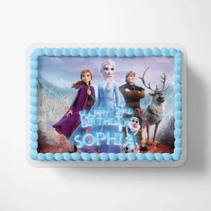 Frozen Cake Toppers - 3