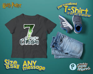 Harry Potter Birthday Shirt - 2