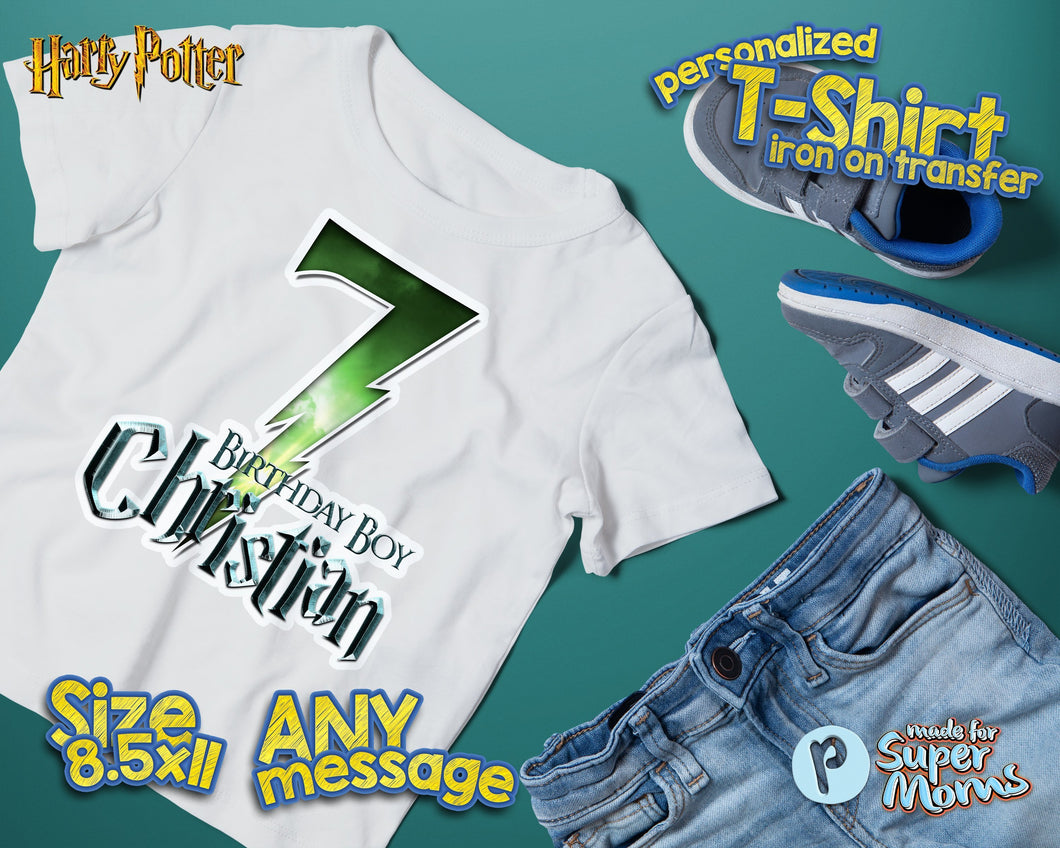 Harry Potter Birthday Shirt - 1