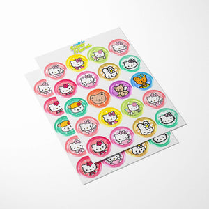 Hello Kitty Cupcake Toppers - 3