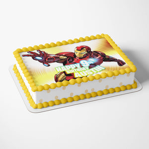 Iron Man Edible Cake Toppers - 4
