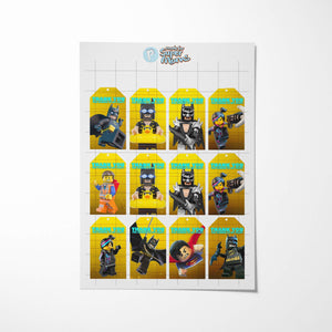 Lego Batman Thank You Tags - 2