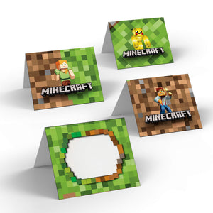 Minecraft Party Food Labels - 2