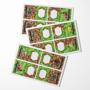 Minecraft Party Food Labels - 3