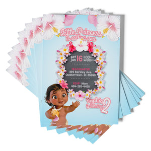 Moana Invitations - 2