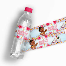 Load image into Gallery viewer, Moana Water Bottle Labels - 1