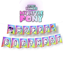 Load image into Gallery viewer, My Little Pony Birthday Banner - 1