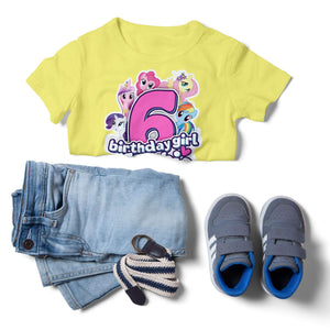My Little Pony Birthday Shirt - 4