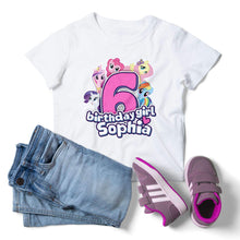 Load image into Gallery viewer, My Little Pony Birthday Shirt - 1