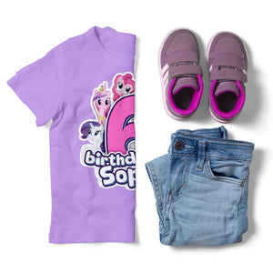 My Little Pony Birthday Shirt - 3