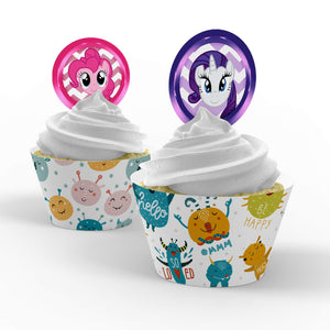 My Little Pony Cupcake Toppers - 2