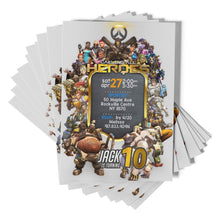 Load image into Gallery viewer, Overwatch Invitations - 2
