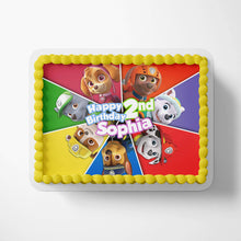 Load image into Gallery viewer, Paw Patrol Cake Toppers - 3