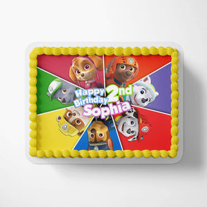 Paw Patrol Cake Toppers - 3