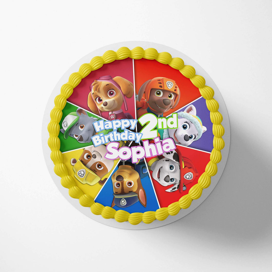 Paw Patrol Cake Toppers - 1