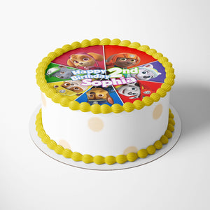 Paw Patrol Cake Toppers - 2