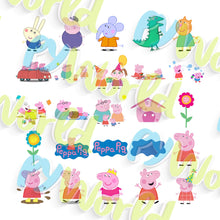Load image into Gallery viewer, Peppa Pig Clipart - 1