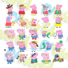 Load image into Gallery viewer, Peppa Pig Clipart - 2