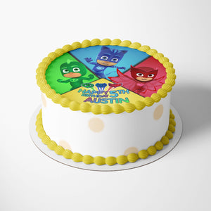 PJ Masks Edible Cake Toppers - 2