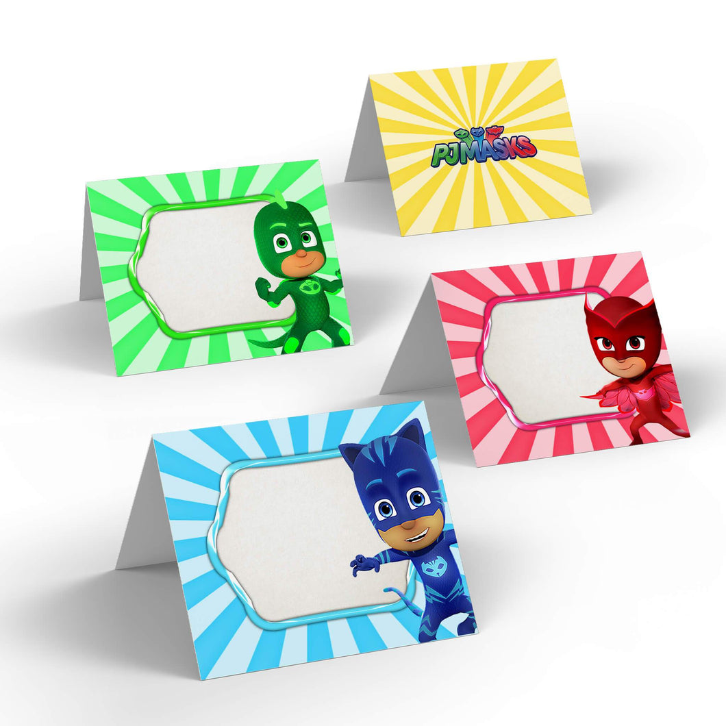 PJ Masks Food Labels - 1