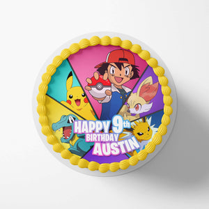 Pokemon Edible Cake Toppers - 1