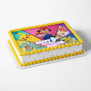 Pokemon Edible Cake Toppers - 4