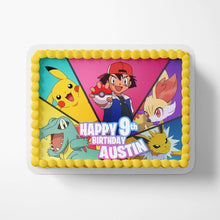 Load image into Gallery viewer, Pokemon Edible Cake Toppers - 3