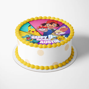 Pokemon Edible Cake Toppers - 2