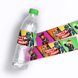 Roblox Water Bottle Labels - 1
