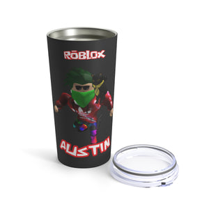 Roblox Birthday Party Tumbler