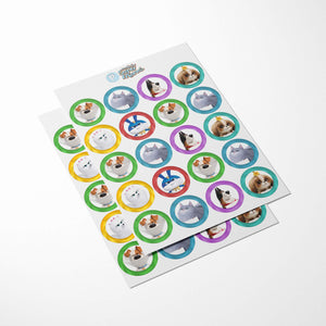 Secret Life of Pets Cupcake Toppers - 2