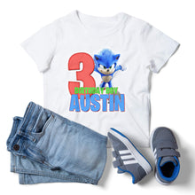 Load image into Gallery viewer, Sonic the Hedgehog Birthday Shirt - 1