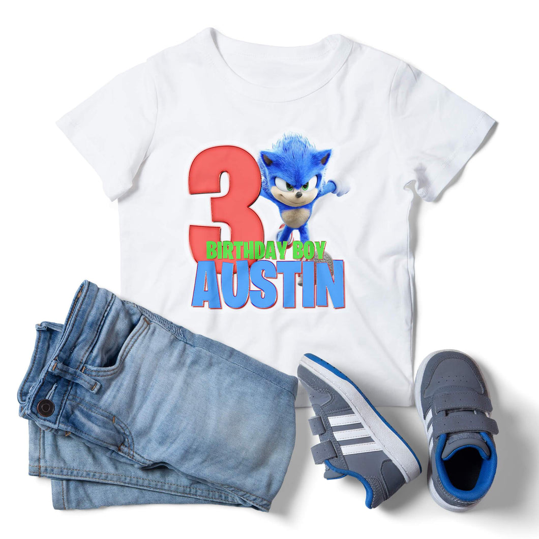 Sonic the Hedgehog Birthday Shirt - 1