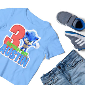 Sonic the Hedgehog Birthday Shirt - 2