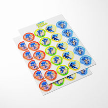 Load image into Gallery viewer, Sonic the Hedgehog Cupcake Toppers - 2