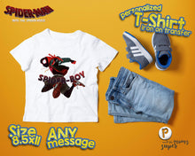 Load image into Gallery viewer, Spiderman Spider Verse Birthday Shirt - 1