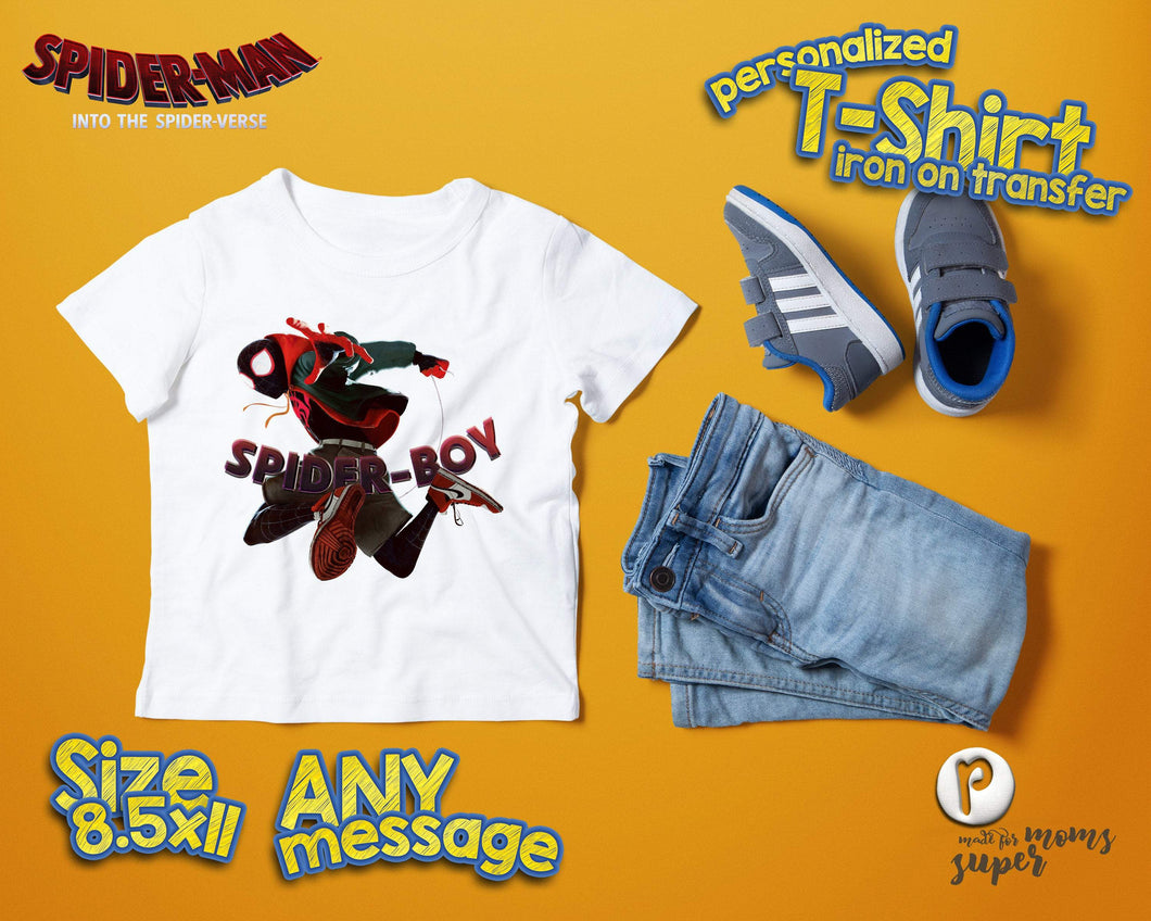 Spiderman Spider Verse Birthday Shirt - 1