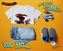 Load image into Gallery viewer, Spiderman Spider Verse Birthday Shirt - 4
