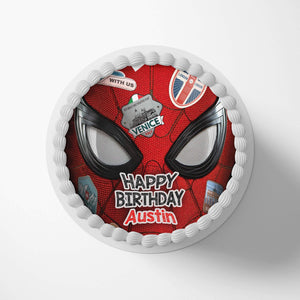 Spiderman Spider-Verse Cake Toppers - 1