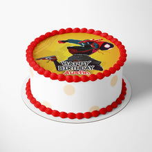 Load image into Gallery viewer, Spiderman Spider-Verse Miles Morales Cake Toppers - 2