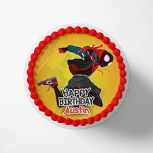 Load image into Gallery viewer, Spiderman Spider-Verse Miles Morales Cake Toppers - 1