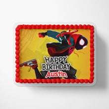 Load image into Gallery viewer, Spiderman Spider-Verse Miles Morales Cake Toppers - 3