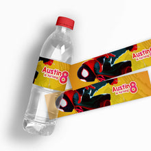 Load image into Gallery viewer, Spiderman Water Bottle Labels - 4
