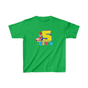 Super Mario Birthday Kids T-shirt - 6